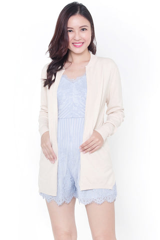 Camrie Knit Cardigan (Beige)