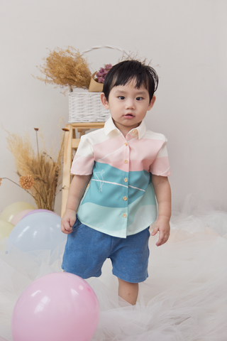 Mason Abstract Shirt (Mint)