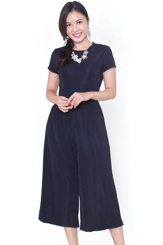 Chassie Jumpsuit (Navy)