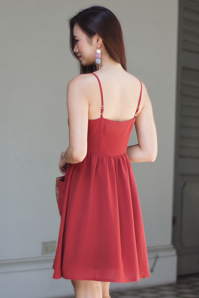 Millane Sundress (Brick)