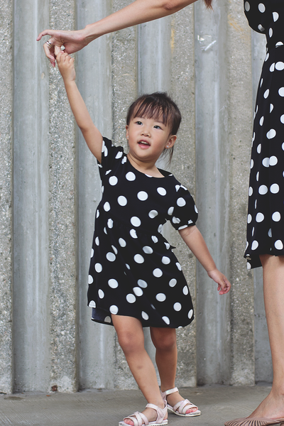 Haedi Dotted Dress