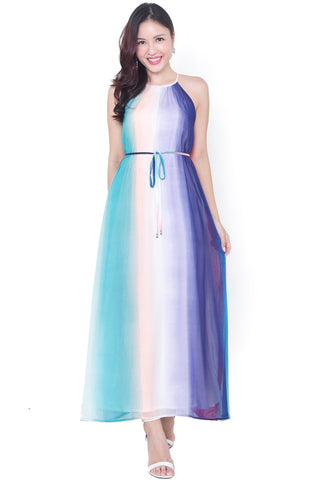 Maxella Kaleidoscope Maxi Dress