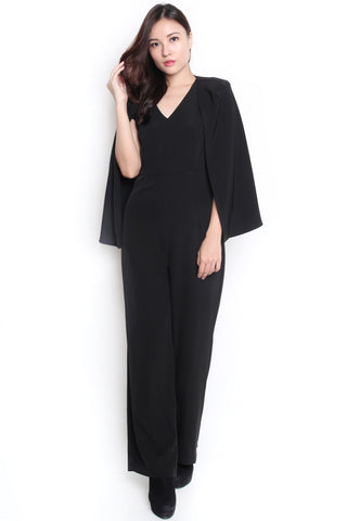 Kleria Cape Jumpsuit