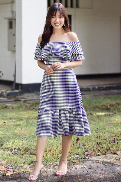 Lallene Gingham Dress