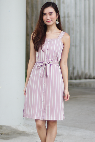 Desilee Stripe Dress