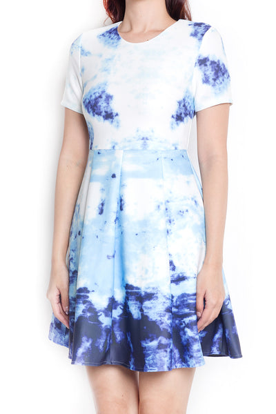 Reychel Abstract Dress