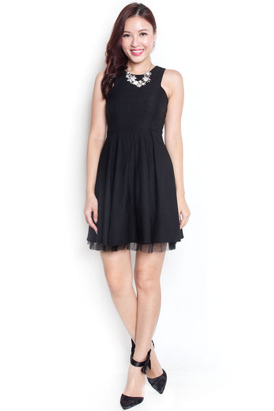 Mayche Tulle Dress (Black)