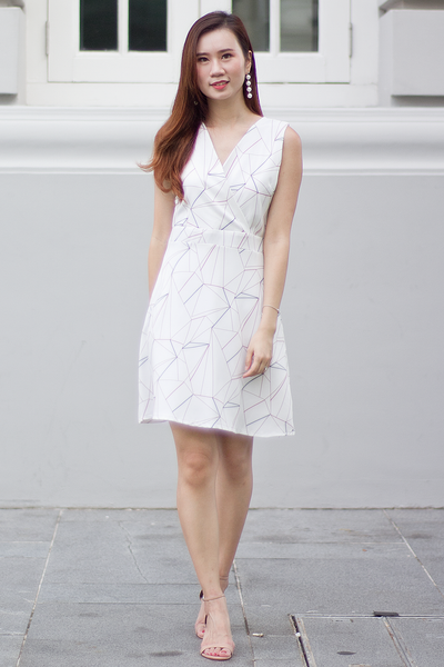 Cadine Abstract Dress