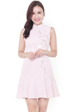 Kayline Orient Embroidery Dress (Pink)