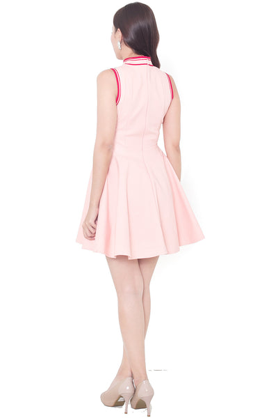 Calliyn Oriental Dress (Peach)