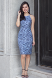 Cerlin Lace Dress (Blue)