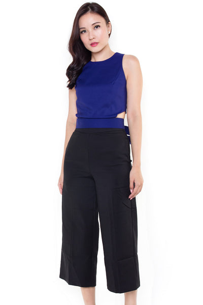 Bratford Mid-Length Trousers (Black)