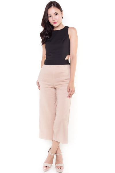 Bratford Mid-Length Trousers (Nude)