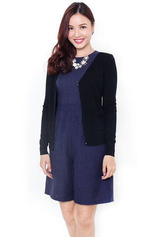 Balley Knit Cardigan (Black)