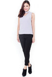 Fanne Crop Trousers (Black)