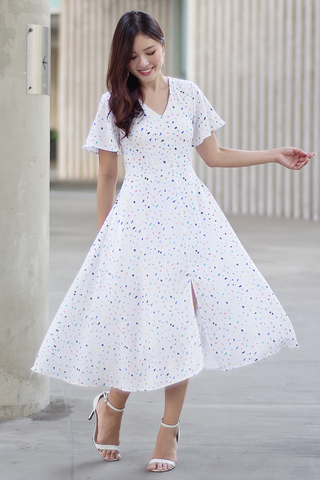 Arlean Midi Dress (Confetti)