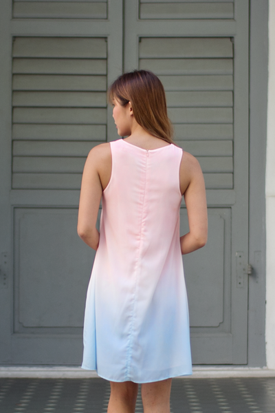 Lyane Dress (Pastel Ombre)