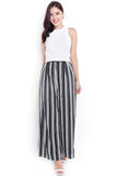 Vindy Stripes Wide-Leg Pants