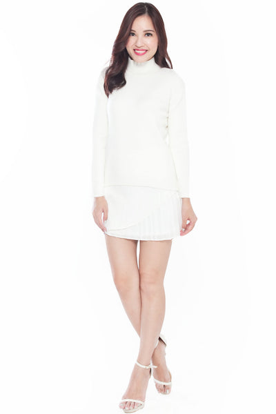 Hatlner Turtleneck Sweater (Cream)