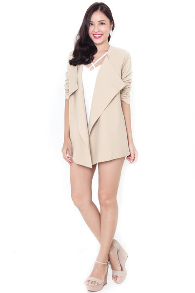 Tresche Waterfall Jacket (Khaki)