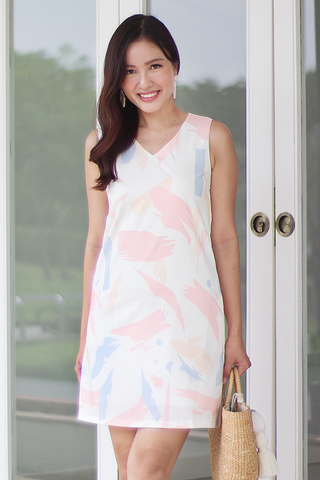 Clariss Abstract Dress