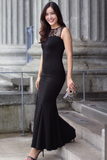 Glaier Lace Gown (Black)