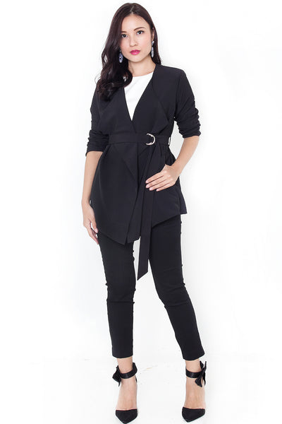 Tresche Waterfall Jacket (Black)