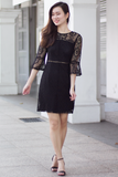 Jaycee Lace Dress (Black)