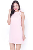 Meghan Halter Dress (Pink)