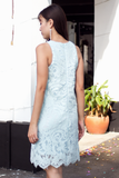 Deanne Lace Dress (Sky)