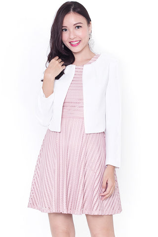 Carleigh Chic Jacket (White)