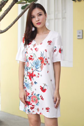Calsie Floral Dress (Backorder)