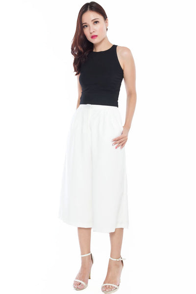 Mayfair Culottes (White)