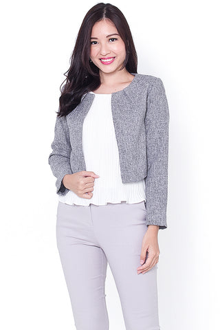 Carleigh Chic Jacket (Grey)