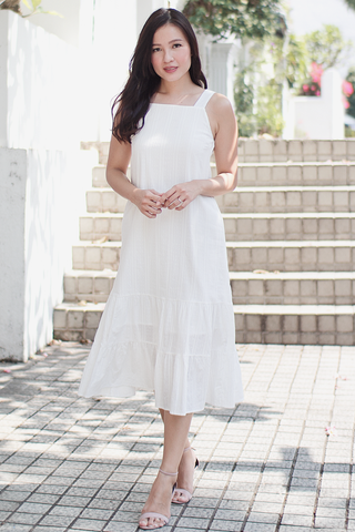 Kacier Maxi Dress (White)