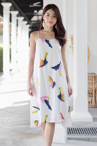Dessie Abstract Midi Dress