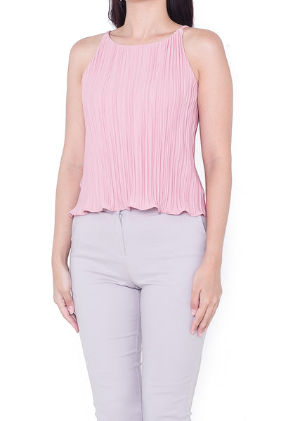 Darla Pleated Cami (Pink)