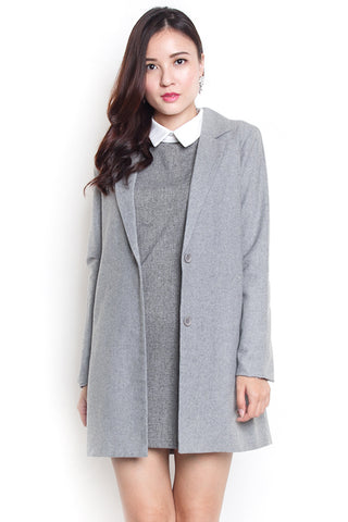 Tams Wool Coat (Grey)
