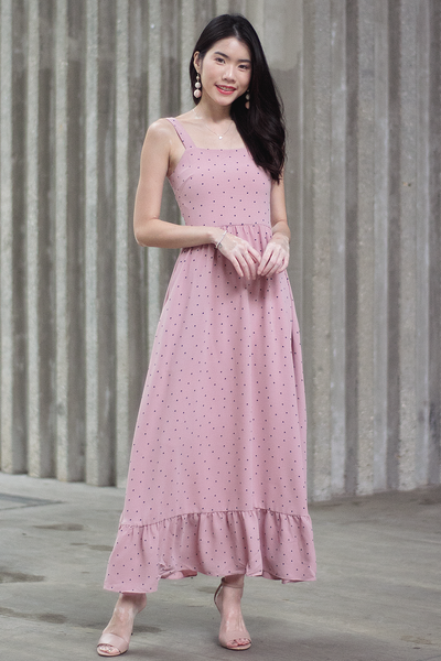 Sherin Maxi Dress (Pink)