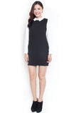 Stelle Preppy Shirtdress (Black)