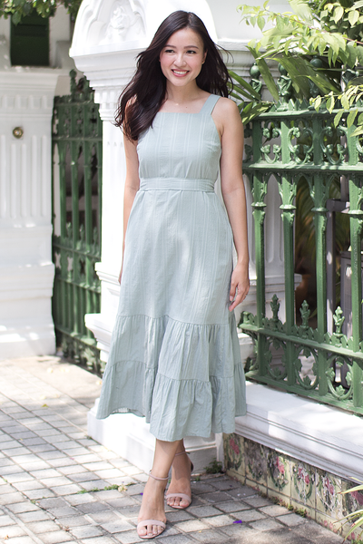 Kacier Maxi Dress (Sage Green)