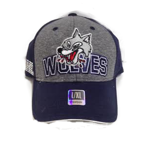 WOLVES 2015 REEBOK DRAFT CAP