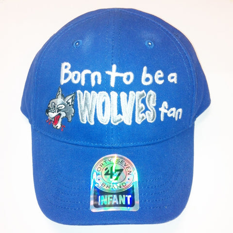 WOLVES BORN 2 INFANT CAP