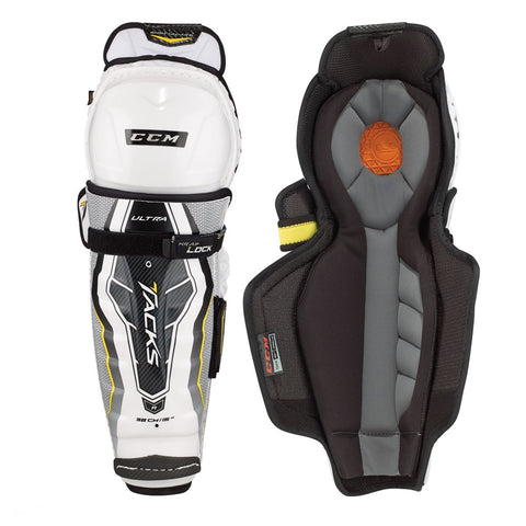 CCM ULTRA TACKS SENIOR SHIN PADS