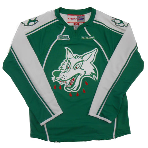 WOLVES YOUTH GREEN JERSEY