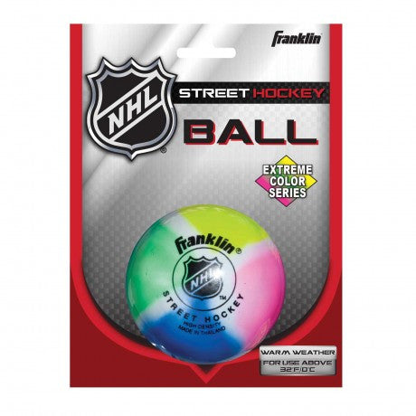 EXTREME COLOR HIGH DENSITY STREET HOCKEY BALL