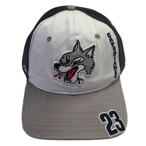 SUDBURY WOLVES CUSTOM PLAYER HATS
