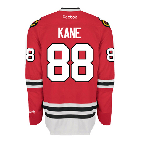 CHICAGO BLACKHAWKS PREMIER #88 PATRICK KANE (RED)