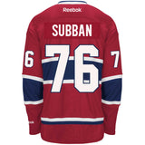 MONTREAL CANADIENS PREMIER JERSEY #76 PK SUBBAN (RED)