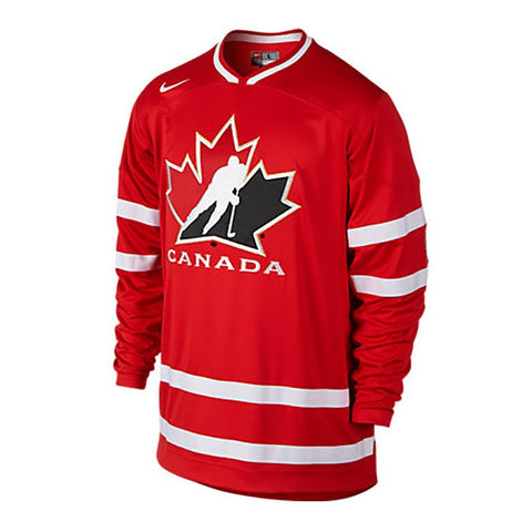 NIKE HOCKEY CANADA SR RED JERSEY
